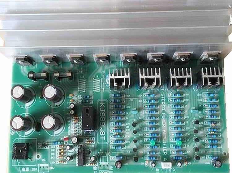 八管场效应立体声功放板